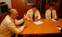 А.В. Зелинский, М.А. Болтов, В.Н. Гаврилов (слева направо). Фото В. Капустина