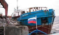 Сухогрузный теплоход «Наутилус». Фото В. Николаева