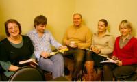 Андрей Фатеев с журналистами «СР». Фото В. Бербенца