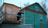 Здесь, на ул. Советской, 10 и 12, появятся сразу два социальных дома. Фото В. Бербенца