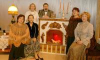 Слева направо: Л. Мирина, Е. Соловьёва, З. Кузнецова, В. Корчагин, Ц. Мысловатая, Е. Кузнецова. Фото В. Капустина