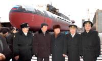 «Карелия» — 16-й корабль в активе Абрамова (на снимке — в центре). Фото В. Ковпака