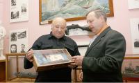 Участники конференции Н. Зорин и О. Ревенко.   Фото В. Капустина.