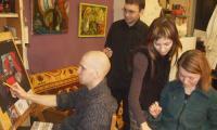 Слева направо: К. Байдаков, А. Менухов, А. Севастьянова, Л. Солтанова. Фото автора