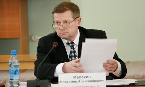 Новый председатель Совета. Фото В. Капустина