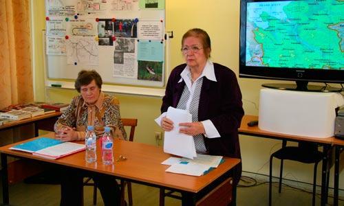Г. Шаверина и Т. Кондакова. Фото В. Бербенца