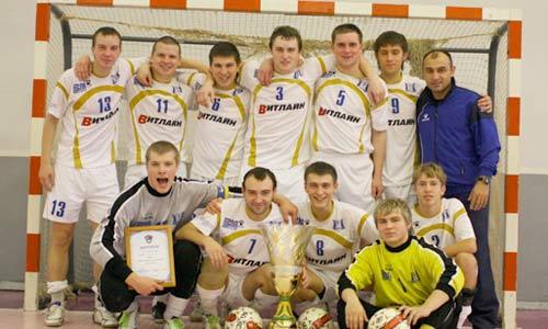 Архангельский «Олимпик» — обладатель Кубка Северо-Запада и лидер областного мини-футбола.