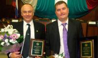 Поздравляем победителей конкурса «Лучший предприниматель года-2008» Андрея Шаманина и Станислава Горчинского! Фото автора