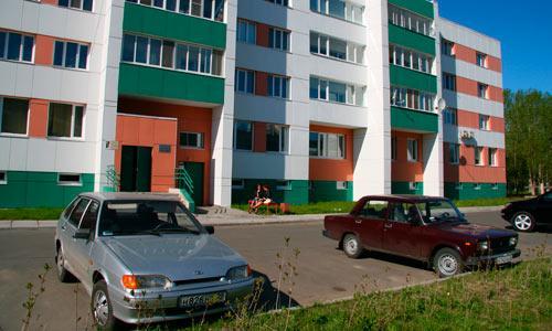 На ул. Малая Кудьма, 8 недавно создали ТСЖ.  Фото В. Бербенца