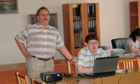 Алексей Козодубов и Александр Яковлев: презентация проекта. Фото А. Яковлева