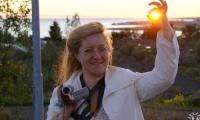 Ольга Молодыченко: «Знание языка открывает все границы». Под Рейкьявиком (Исландия).