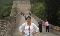 Великая Китайская стена — единственное человеческое творение, отчётливо видимое даже с Луны. Фото автора