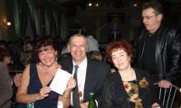 Е.В. Назаренко (в центре) на юбилее газеты «Северная неделя». Фото В. Ларионова