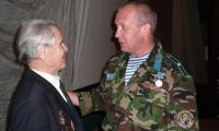 Десантники двух войн: Корнил Румянцев и Станислав Коноплянников. Фото автора