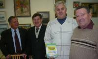Александр Лычаков, Николай Щербинин, Владимир Кузнецов, Владимир Каменев. Фото автора