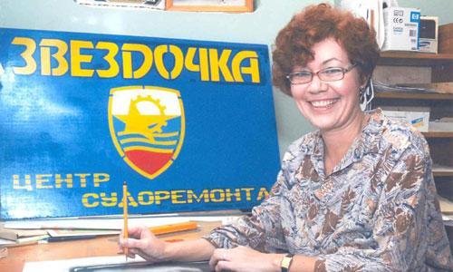 Светлана Мусатова — художник с настроением. Фото М. Биктимирова