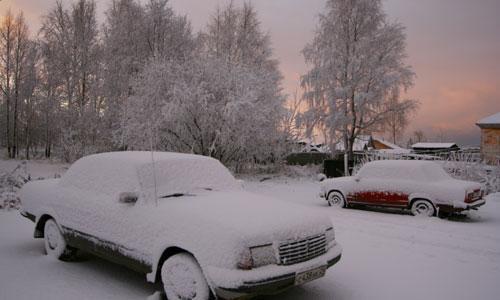 Декабрь баюкает. Фото В. Бербенца