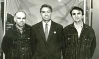 Виктор Архипов, Николай Русин и Александр Максимов (слева направо). Фото из фонда музея «Звёздочки»