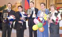 Генеральный директор «Звездочки» Владимир Никитин (в центре) заверил, что «Звездочка» и впредь не подведет. Фото Ю. Максимова