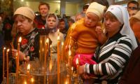 Освящение Храма святых равноапостольных Кирилла и Мефодия. Фото В. Бербенца