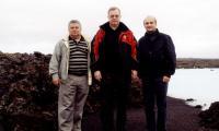 Герман Хлопин (справа) с послом России в Исландии Виктором Татаринцевым и председателем Счетной палаты Сергеем Степашиным.