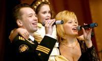 «Семейные» номера зрители «Беломорских звёзд» принимают с большой теплотой. Фото В. Капустина