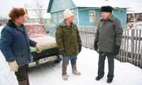 Многие северодвинцы живут на даче и зимой. Им предлагают укладываться в норму потребления электричества. Фото В. Бербенца