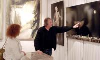 Константин Худяков проводит экскурсию для северодвинцев в своей галерее «М'Арс». Фото автора