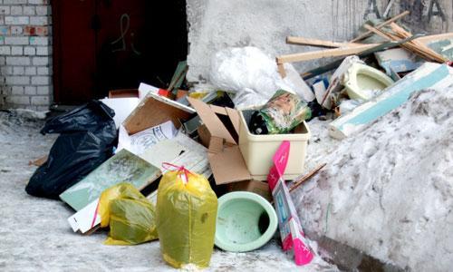 Такая картина, к сожалению, не редкость для Северодвинска. Фото В. Бербенца