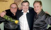 Путь в музыку начинали вместе: И. Кудрявцев, А. Ломунов, Н. Пономарёв. Фото автора