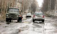 Неудовлетворительное состояние дорог названо в числе наиболее актуальных проблем. Фото В. Бербенца