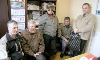 Делегаты от «Спецмашмонтажа» пришли в редакцию. Фото В. Бербенца
