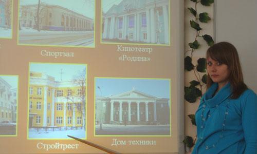 «И в нашем городе есть дворцы!» — уверена В. Капустина.