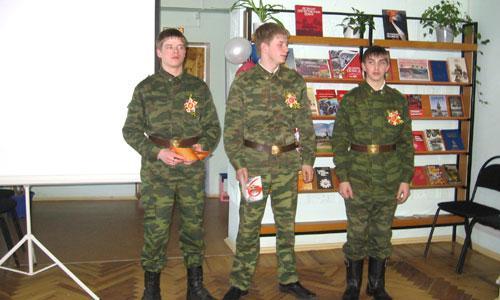 Учащиеся ПУ-1 Дима Соболев, Володя Фофанов, Алексей Буланов. Фото автора