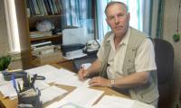 С 1997 года, не считая перерыва в три месяца, Александр Мусников — «мэр» Нёноксы. Фото автора