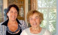 Мария Алексеевна Усачёва с дочерью Ниной. Фото из семейного архива