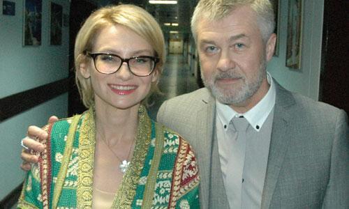 Андрей Жданов: «В комплиментах Эвелины Хромченко я просто купался...» Фото из архива А. Жданова