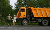 Строительство нитки газопровода на Северодвинск продолжается. Фото В. Бербенца