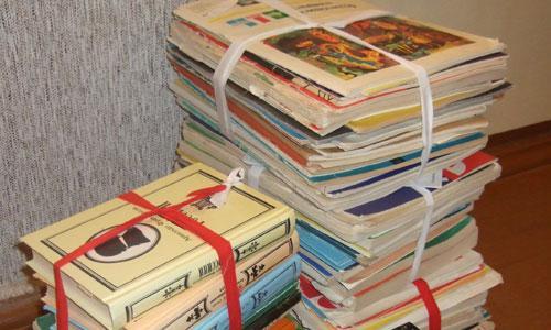 Какие из этих книг нужны городским библиотекам? Фото Г. Чарупы