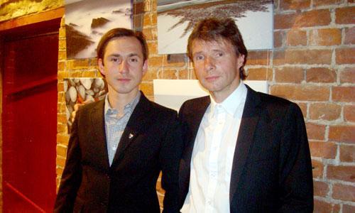 Пол Йомас и Бьярне Риесто: «Следующая фотовыставка будет посвящена Архангельску». Фото автора