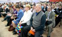 Мероприятие не обошлось без участия преподавателей высшей  школы. Фото В. Бербенца
