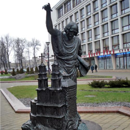 Зодчим всех поколений в честь 940-летия Минска. Фото автора
