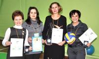 Е.А. Елагина, Е.А. Архипкина, Е.А. Пургина и Л.В. Цоболова (слева направо). Фото В. Бербенца