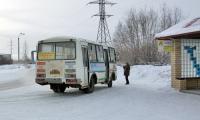 Конечная остановка автобуса обозначена загадочной аббревиатурой — ОКС. Фото В. Бербенца