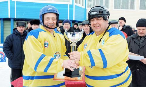 Михаил Гмырин и Владимир Лодыгин. Фото М. Биктимирова