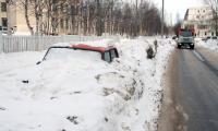 Северодвинские «подснежники» не распускаются, а оттаивают... Фото В. Бербенца