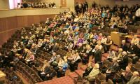 В зале конференции. Фото В. Бербенца