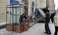 Закрытие отдела и вывоз торгового оборудования — крайняя мера, но это уже происходит в Северодвинске.                                                                                                                                                                               Фото В. Капустина