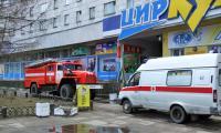 На вызов приехали и пожарные, и медики. Фото В. Бербенца