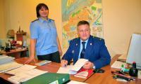 Руководитель следственного отдела Юрий Киселёв и следователь Татьяна Попкова. Фото В Бербенца